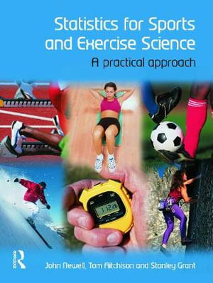 Cover of Statistics for Sports and Exercise Science