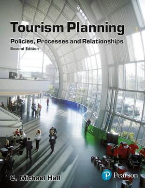 Cover of Tourism Planning: Policies Processes  CP