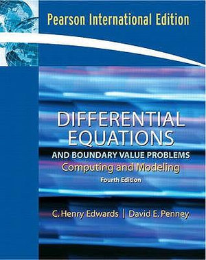 Cover of Differential Equations and Boundary Value Problems