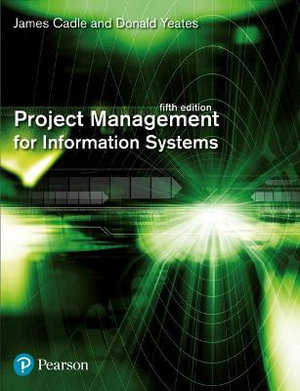 Cover of Project Management for Information Systems