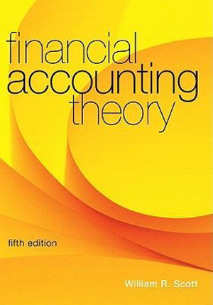 Cover of Financial Accounting Theory