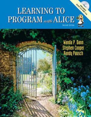 Cover of Learning to Program with Alice