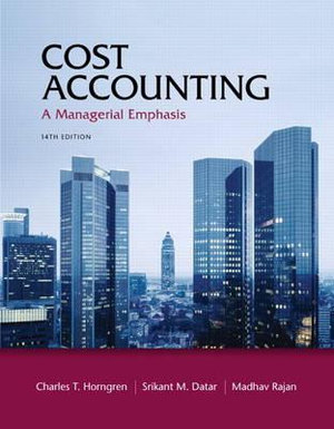 Cover of Cost Accounting       CP