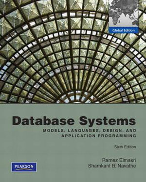 Cover of Fundamentals of Database Systems Pearson Intrnation Edition (Mechanical Version)