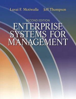 Cover of Enterprise Systems for Management