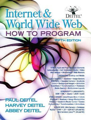 Cover of Internet and World Wide Web