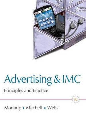 Cover of Advertising and IMC: Principles and Practice