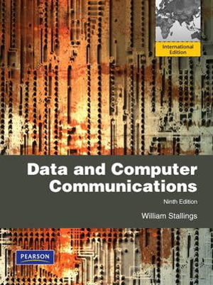 Cover of Data and Computer Communications Peasron International Edition          Mechanical Version