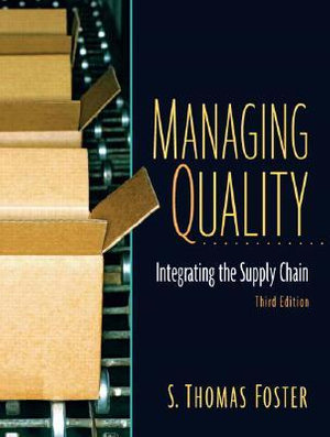 Cover of Managing Quality