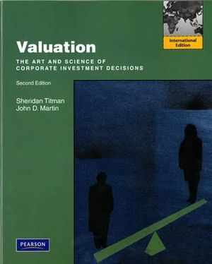 Cover of Valuation Pearson International Edition