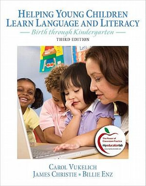 Cover of Helping Young Children Learn Language and Literacy