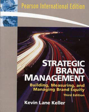 Cover of Strategic Brand Management  Pie