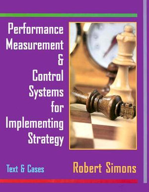 Cover of Perfrm Measur& Contrl Sys Implmt Strat:Txt&