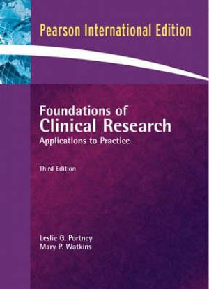 Cover of Foundations of Clinical Research  Pie