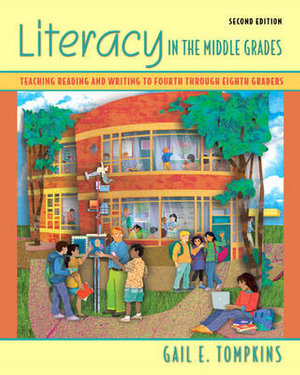 Cover of Literacy in the Middle Grades