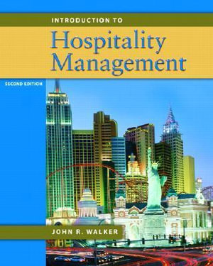 Cover of Introduction to Hospitality Management