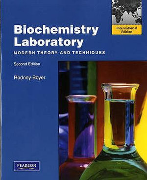 Cover of Biochemistry Laboratory