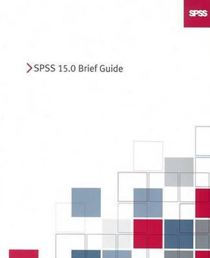 Cover of SPSS 15.0 Brief Guide
