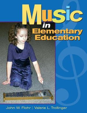 Cover of Music in elementary education