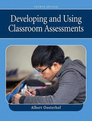 Cover of Developing Using Clssroom Assessment cp