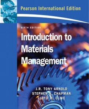 Cover of Introduction to Materials Management
