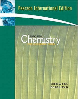 Cover of Chemistry for Changing Times