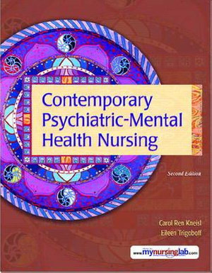 Cover of Contemporary Psychiatric-mental Health Nursing