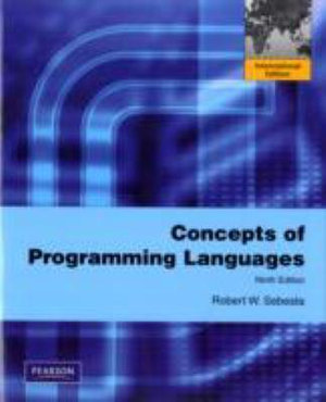 Cover of Concepts of Programming Languages