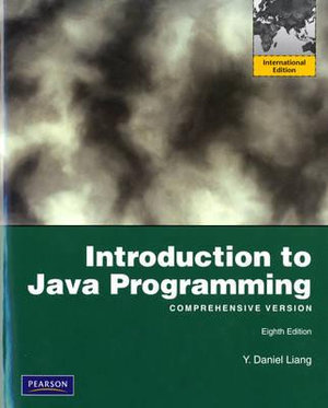 Cover of Introduction to Java Programming