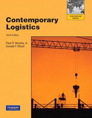 Cover of Contemporary Logistics Pearson International Edition Mechanical Version
