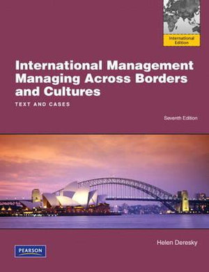 Cover of International Management: Managing Across Borders and Cultures          Pearson International Edition Mechanical Version