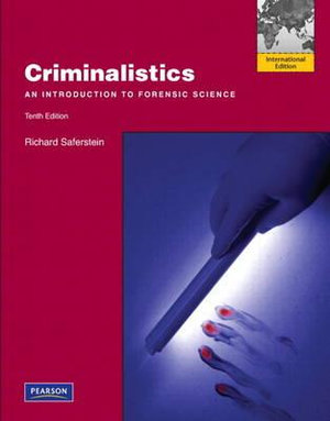 Cover of Criminalistics: An Introduction to Forensic Science Pearson             International Edition