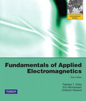 Cover of Fundamentals of Applied Electromagnetics