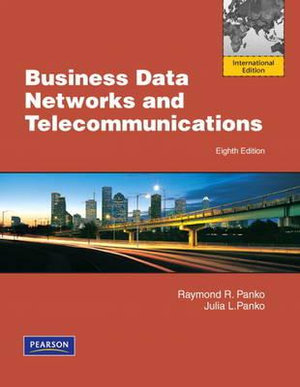 Cover of Business Data Networks and Telecommunications