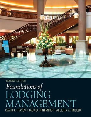 Cover of Foundations of Lodging Management