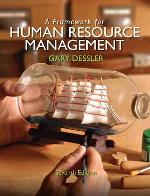 Cover of A Framework for Human Resource Management