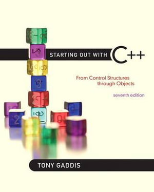 Cover of Starting Out with C++