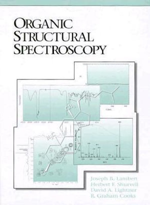 Cover of Organic Structural Spectroscopy