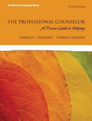 Cover of The Professional Counselor