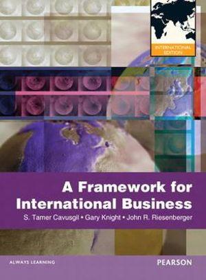 Cover of A Framework of International Business