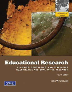 Cover of Educational Research: Planning, Conducting, and Evaluating ...