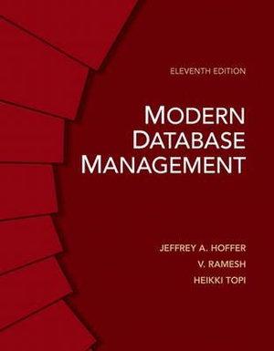Cover of Modern Database Management