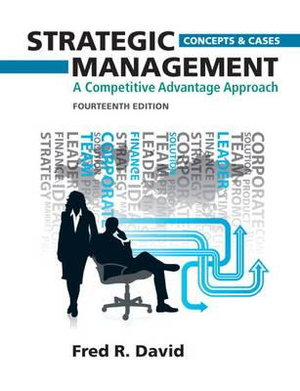 Cover of Strategic Management Concepts and Cases