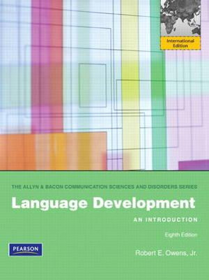 Cover of Language Development: An Introduction Pearson International Edition