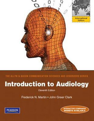 Cover of Introduction to Audiology Pearson International Edition