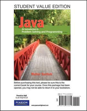 Cover of Student Value Edition for Java