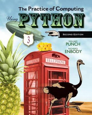Cover of The Practice of Computing Using Python