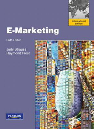 Cover of E-Marketing Pearson International Edition Mechanical Edition