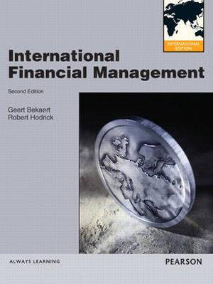 Cover of International Financial Management Pearson International Edition