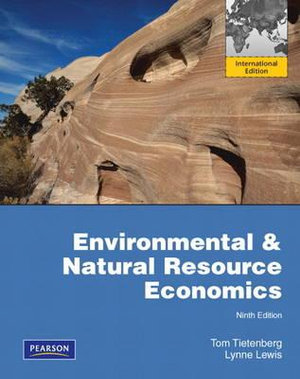 Cover of Environmental & Natural Resources Economics Pearson International       Edition